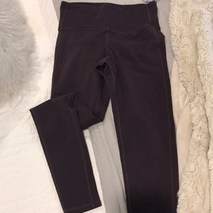 Eggplant colored athleta tights